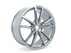 "ES#3109023 - 5G0601025AJZ49 - 19"" ""Pretoria"" Wheel - Priced Each - Gray-Metallic color. 19""x8"" ET50 - Genuine Volkswagen Audi - Volkswagen"