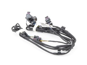 ES#2181544 - 4G5971095A - Front Bumper Wiring Harness - Ultrasonic sensor wiring harness - Genuine Volkswagen Audi - Audi