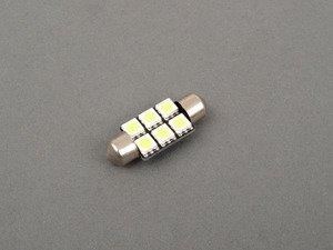 ES#2515359 - PL36MM65050WHT - 36mm White LED Festoon Bulb - Priced Each - 6 Chip White LED Festoon Bulb - ZiZa - Audi BMW Volkswagen Mercedes Benz MINI Porsche