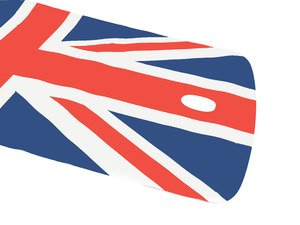 ES#78838 - 51140441117 - Roof Decor Union Jack  - Add some style to your roof : with Navigation - Genuine MINI - MINI