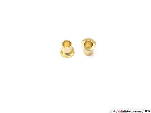 ES#3077834 - 3589577 - Brass Shifter Relay Lever Bushings - Pair - Upgrade from plastic to reduce shifter slop - OE#1J0711067L - 42 Draft Designs - Volkswagen
