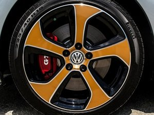 ES#3142842 - K55WH23-5LCKT - Austin Wheel Overlay - Gloss Bronze With Lug Connectors - Premium vinyl wheel overlays to set your Austin wheels apart. - Klii Motorwerkes - Volkswagen