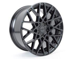 ES#2835016 - R11218854345 - 18x8.5 BLQ 5x112 Matte Black eT45 CB66.5mm - Rotiform -