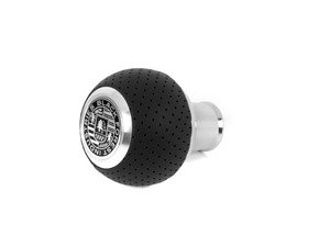 ES#3022033 - GS2B - BFI Heavy Weight Shift Knob - Silver Air Leather  - A superb interior upgrade with added weight for smoother shifting - Black Forest Industries - BMW