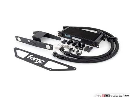 ES#2855818 - FM0CRS4 - Oil Cooler Upgrade Kit - Replace that weak OE oil cooler in your RS4! - Forge - Audi