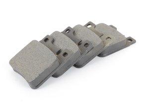 ES#2603101 - 0044209320 - Rear Brake Pad Set - Does not include new brake pad wear sensors - Meyle - Mercedes Benz