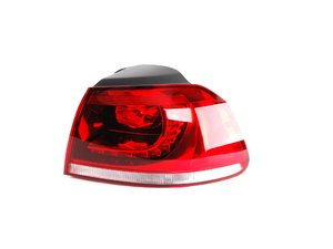 ES#2550724 - 5K0945096P - LED Outer Tail Light Assembly - Right - Includes bulb holder - Genuine European Volkswagen Audi - Volkswagen