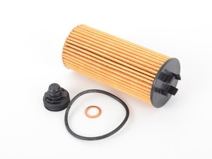 ES#2972533 - 11428570590 - Oil Filter Element ox 815d - Ensure that your engine is getting a clean oil supply with a new filter - Mahle - BMW MINI