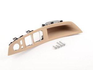 ES#2144899 - 51417225875 - Beige Front Door Handle Trim - Left - Replace your worn door trim - Genuine BMW - BMW