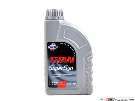 ES#3141550 - 5W401LITERF - SUPERSYN Engine Oil (5w-40) - 1 Liter - High performance synthetic oil - Fuchs - Audi Volkswagen