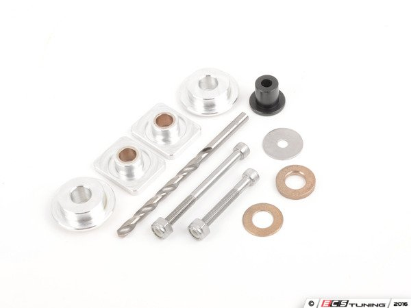 ES#3077704 - 3393765 - Solid Shifter Bushing Kit - Rectangle 8.5mm - Round 10mm - Tighten your shifter and stop missing shifts with Billet shifter bushings! - 42 Draft Designs - Volkswagen