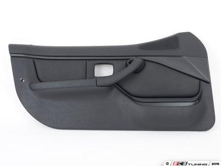 ES#98122 - 51412496753 - Left Door Panel - Black - Replacement door trim panel - Genuine BMW - BMW