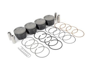 ES#3111675 - MAH-PVN1 - IE Spec Mahle Motorsport Performance Pistons - 82.5mm bore - Forged Alloy pistons with 22mm wrist pin - Varying Comp Ratio: (2.0T TSI EA888 Gen 1 & 2 (2008-2014): 9.5:1 CR), (2.0T TSI EA888 Gen 3 (2015+): 9.3:1 CR) - Integrated Engineering - Audi Volkswagen