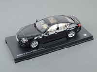 ES#2706554 - 80432218740 - 1:18 BMW 650i Gran Coupe Scale Model - Black - A perfect addition to any enthusiast's die-cast collection - Genuine BMW - BMW
