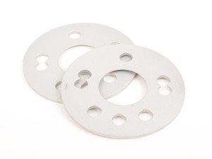 ES#3022105 - SP545X100G - 4x100 Wheel Spacers - 5mm (Pair) - High Strength Aluminum wheel spacers - Black Forest Industries - Volkswagen