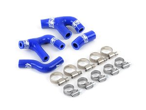 ES#3130098 - 010377ECS01-03 -  Silicone Vacuum Hose Kit - Blue - Sleek, heavy duty silicone vacuum hoses to eliminate cracked lines or to dress up any 1.8T engine bay! - ECS - Volkswagen