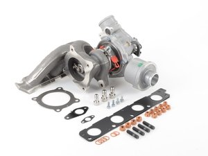 ES#3143326 - 06D145701JKT1 -  K03 Turbocharger With ECS Installation Kit (06D145701J) - Restore your boost levels and get going! - BorgWarner - Audi
