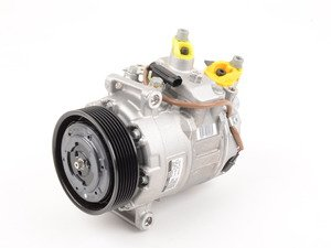 ES#2848176 - 64529195721 - Air Conditioning Compressor - New With Clutch - Keep your cool - Denso - BMW