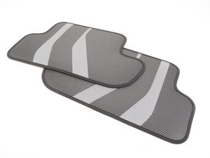 ES#2923157 - 51472365222 - M Performance floor mats - Rear - Textile light weight floor mats - Genuine BMW M Performance - BMW