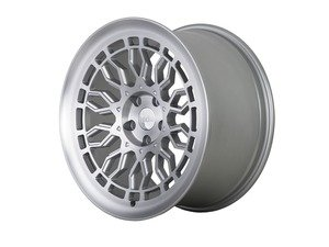 "ES#3438396 - a101910511242KT1 - 19"" R8A10 Wheels - Set Of Four - 19""x10"" ET42, 5x112- Matte Silver/Machined Face - Radi8 - Audi"