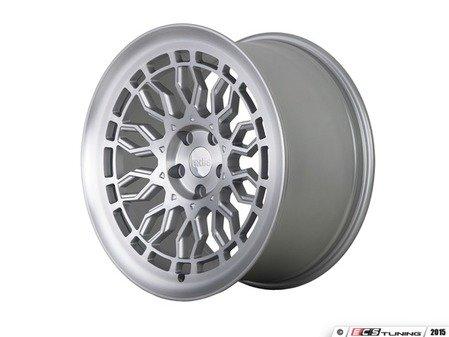 "ES#3146074 - R8A10MSMFSTGKT - 18"" R8A10 - Set of Four  - 18""x8.5"" ET40 / 18""x9.5"" ET42 5x112 - Matte Silver/Machined Face - Radi8 - Volkswagen"