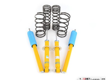 ES#2652331 - 46-189455 - B12 Sportline Suspension System - Expertly matched Eibach Sportline lowering springs and Bilstein shock/strut package for a dramatic increase in performance handling with an even more aggressive look than the Pro-Kit. World-famous Bilstein quality with a limited lifetime warranty! - Bilstein - BMW