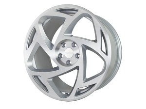 "ES#3438221 - s51910511237KT1 - 19"" R8S5 Wheels - Set Of Four - 19""x10"", 5x112, et37 - Matte Silver/Machined Face - Radi8 - Audi"