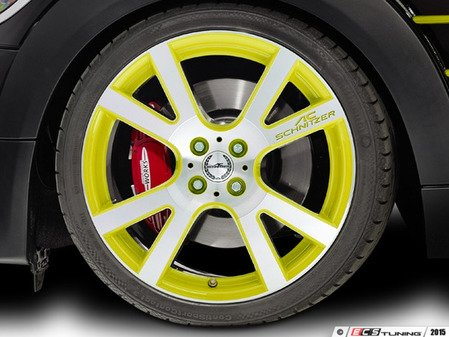 "ES#3137393 - 361150400KT4 - AC Schnitzer Mi2 Wheel 18"" Lemon Yellow ( 4x100 ) - Set Of Four - 18""x7.5"" 4x100 ET50 in Special Lemon Yellow - AC Schnitzer - MINI"