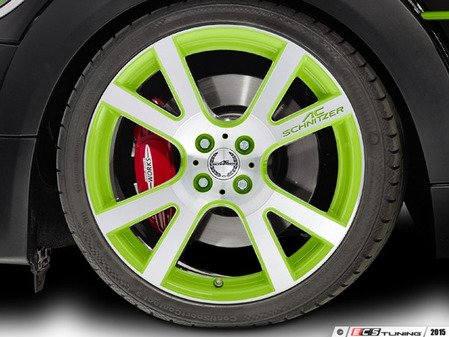 "ES#3137389 - 361150400KT2 - AC Schnitzer Mi2 Wheel 18"" Alien Green ( 4x100 ) - Set Of Four - 18""x7.5"" 4x100 ET50 in Special Alien Green - AC Schnitzer - MINI"