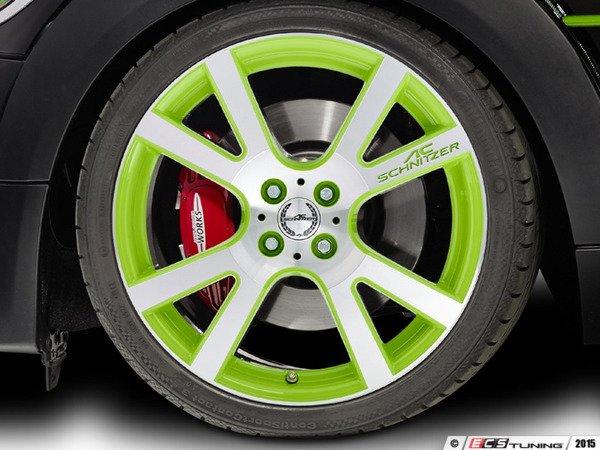 "ES#3137510 - 361150400KT5 - AC Schnitzer Mi2 Wheel 18"" Alien Green ( 4x100 ) - Set Of Four - 18""x7.5"" 4x100 ET50 in Special Alien Green with 4 Adapter kits - AC Schnitzer - MINI"