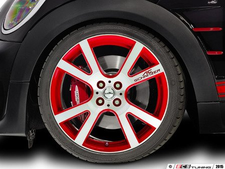 "ES#3137391 - 361150400KT3 - AC Schnitzer Mi2 Wheel 18"" Chili Red ( 4x100 ) - Set Of Four - 18""x7.5"" 4x100 ET50 in Special Chili Red - AC Schnitzer - MINI"