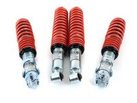 ES#4970 - 50865-2 - MK3 Golf / Jetta Ultra Low Coilovers - Ultra Low for the extreme enthusiasts. Average lowering of 3.2