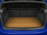 ES#3129595 - 018543ECS01-02 - Wood Trunk Floor - Teak - No more DIY! Add uniqueness to your MK5 GTI/Rabbit/R32 and transform your hatch in seconds with our ready-to-install Wood Trunk Floor! - ECS - Volkswagen