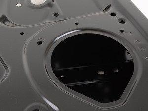 ES#459135 - 8P4833051A - Rear Door Assembly - Left - Does not include electrical items, regulator, or door card - Genuine Volkswagen Audi - Audi