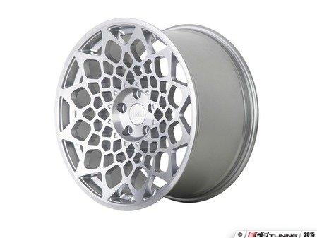 "ES#3438255 - b121985511235KT1 - 19"" R8B12 Wheels - Set Of Four - 19""x8.5"", 5x112, et35 - Matte Silver / Machined Face - Radi8 - Audi Volkswagen"