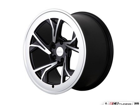"ES#3438288 - c51985510038btKT - 19"" R8C5 - Set Of Four - 19""x8.5"" / 19""x10"" ET38 5x100 - Gloss Black/Machined Face - Radi8 - Audi Volkswagen"