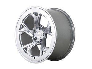 "ES#3438367 - c51910511242KT1 - 19"" R8C5 Wheels - Set Of Four - 19""x10"" ET42 5x112 - Matte Silver/Machined Face - Radi8 - Audi"