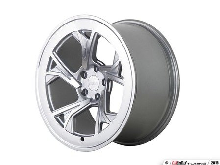 "ES#3146278 - r8c5MSMF19KT - 19"" R8C5 - Set of Four  - 19""x8.5"" ET45 5x112 - Matte Silver/Machined Face - Radi8 - Audi Volkswagen"