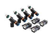 ES#1899400 - injb550 - 550cc Fuel Injectors - Set Of Four - Compatible with BT software applications. Includes injector plug adapters - Bosch - Audi Volkswagen