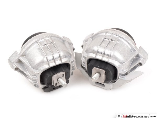 ES#3143669 - 034-509-005X - Density Line Performance Motor Mount Set - Increase performance and durability without sacrificing comfort. True rubber mounts - a positive upgrade over cushy, factory-installed fluid-filled mounts. - 034Motorsport - BMW