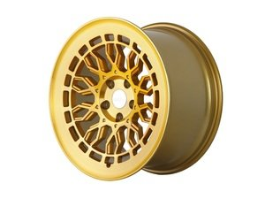"ES#3146067 - r8a10GB19KT - 19"" R8A10 - Set of Four  - 19""x8.5"" ET45 5x112 - Brushed Gold - Radi8 - Audi Volkswagen"