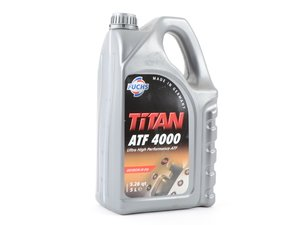ES#3141509 - G052162A2F5L - TITAN ATF4000 - 5 Liter - Improve low temperature shifting - Fuchs - Audi Volkswagen Porsche