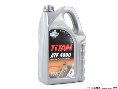 ES#3141509 - G052162A2F5L - TITAN ATF4000 - 5 Liter - Improve low temperature shifting - Fuchs - Audi Volkswagen Porsche
