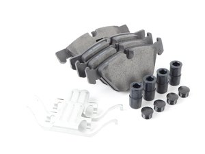 ES#3049478 - 104.15040 - Front Centric Posi-Quiet Brake Pads - Increase Braking power! - Centric - BMW