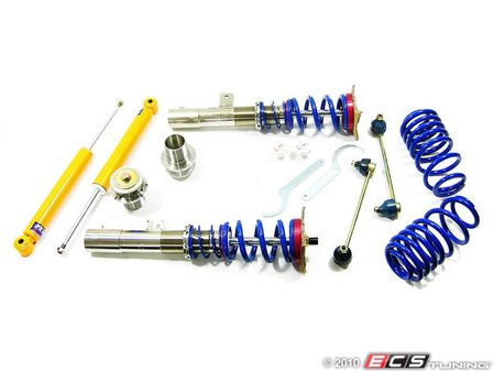 ES#2137224 - fkxvw43 - Silverline Coilover System - Non-Adjustable Shocks - Corrosion resistant bodies for your Audi A3 (Height adjustment from 35-65mm's) - FK -