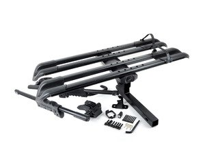 ES#3125842 - 1140 - SplitRail Platform Hitch Rack - Easily carries two bikes!
