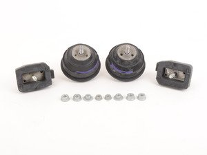 ES#3146766 - 11812283798KT11 - Motor And Transmission Mount Kit - Original equipment mount set with all mounting hardware - Corteco - BMW