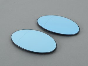 ES#3046094 - MR-MIR50a - Blind Spot Mirror - Set - Eliminate your blind spots - Blue Tinted* Aspherical & Heated - Helix - MINI