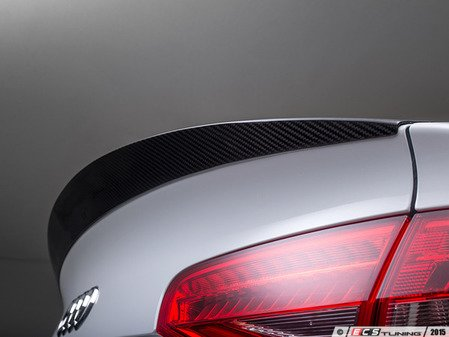ES#2996602 - 013868ECS01A -  Carbon Fiber Trunk Spoiler - Add a touch of style and real carbon fiber to your Audi - ECS - Audi