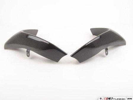 ES#3143249 - 51192350712 - Carbon Fiber Splitter Set - Real carbon fiber - not a print - AUTOTECKNIC - BMW
